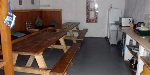 Ground floor sitting and dining area