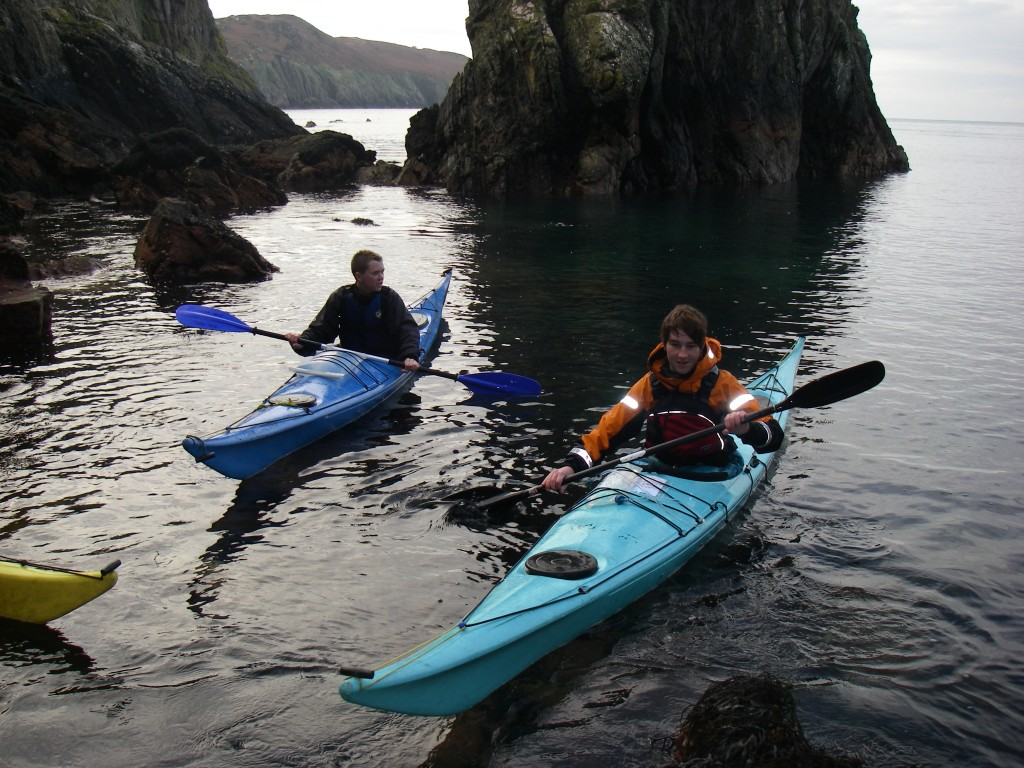 Sea kayaking intro course