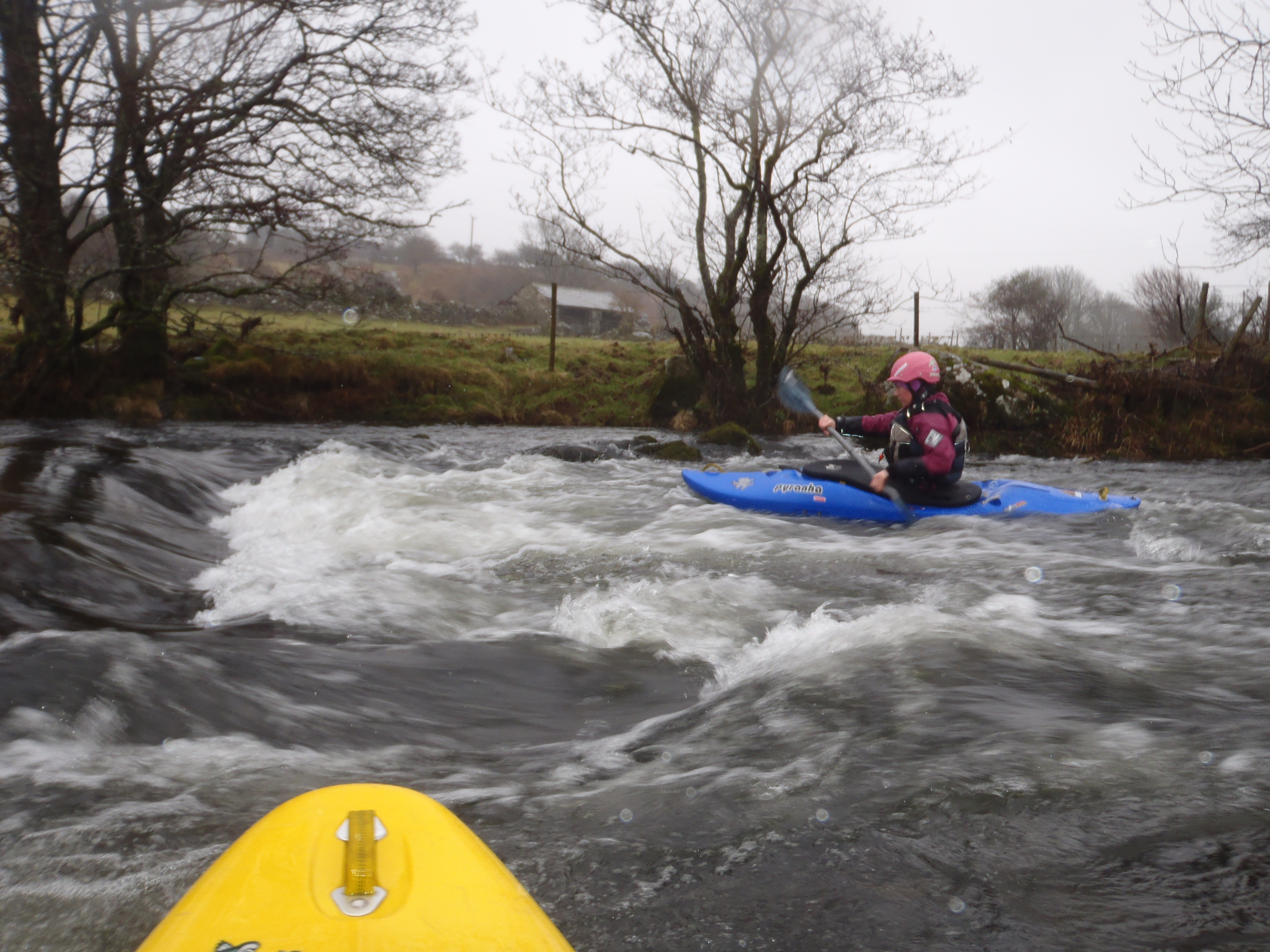 Kayak courses in North Wales