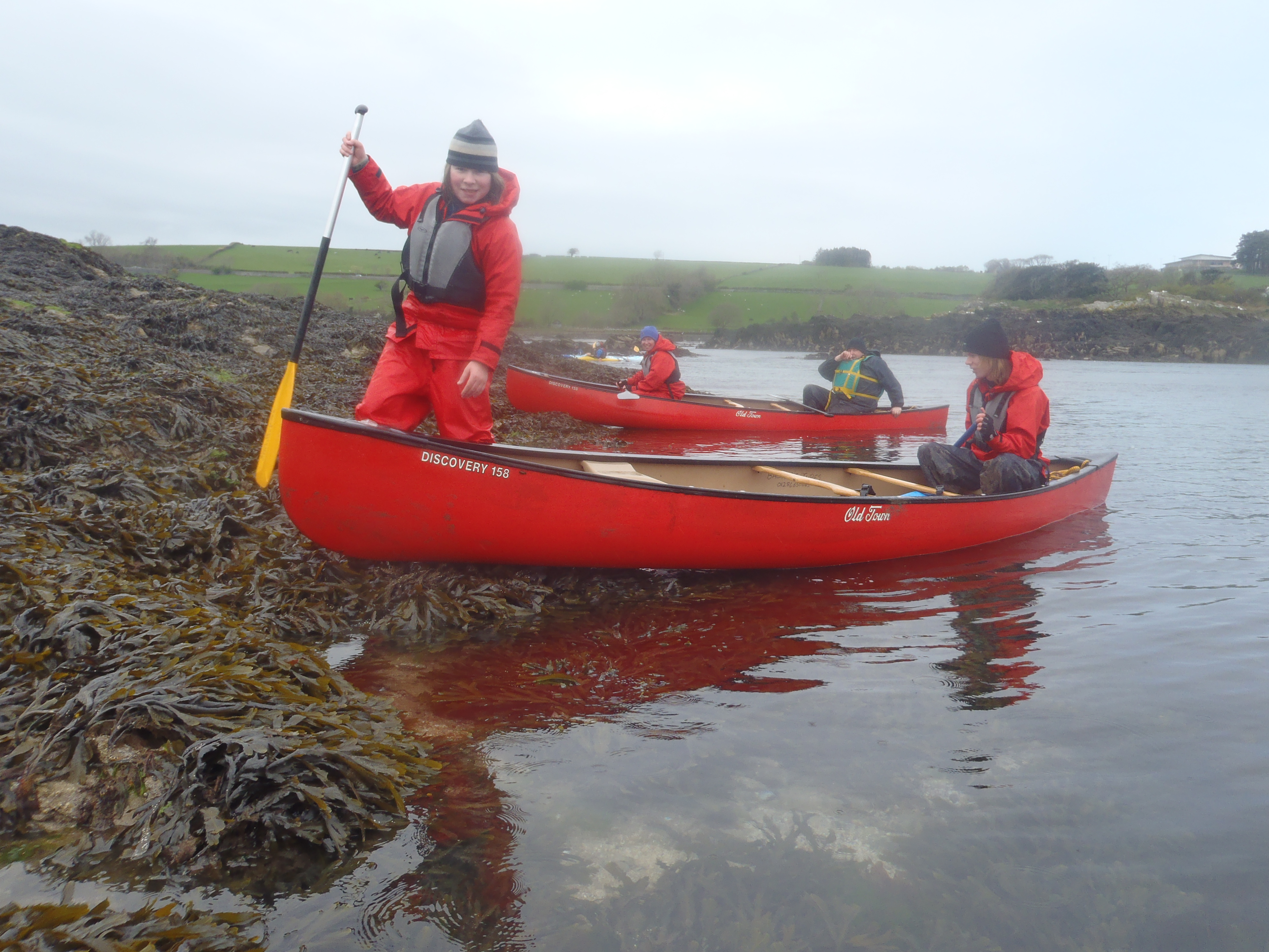 Guided canoe and kayak trips with Bach Ventures
