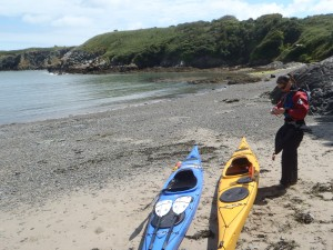 Sea kayaking courses North Wales