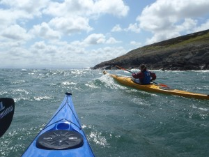 Sea kayaking courses with Bach Ventures