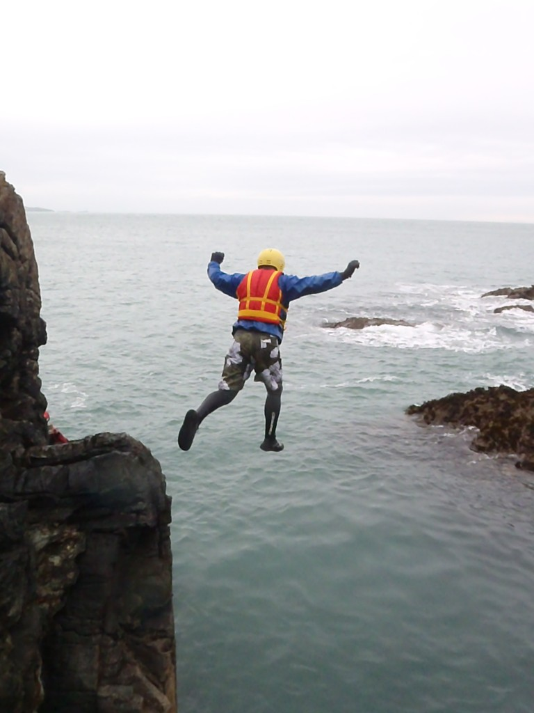 Coasteering with Bach Ventures