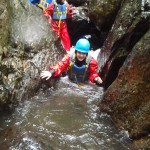 Descending gorge with Bach Ventures