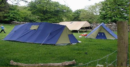 Scout summer camp with Bach Ventures